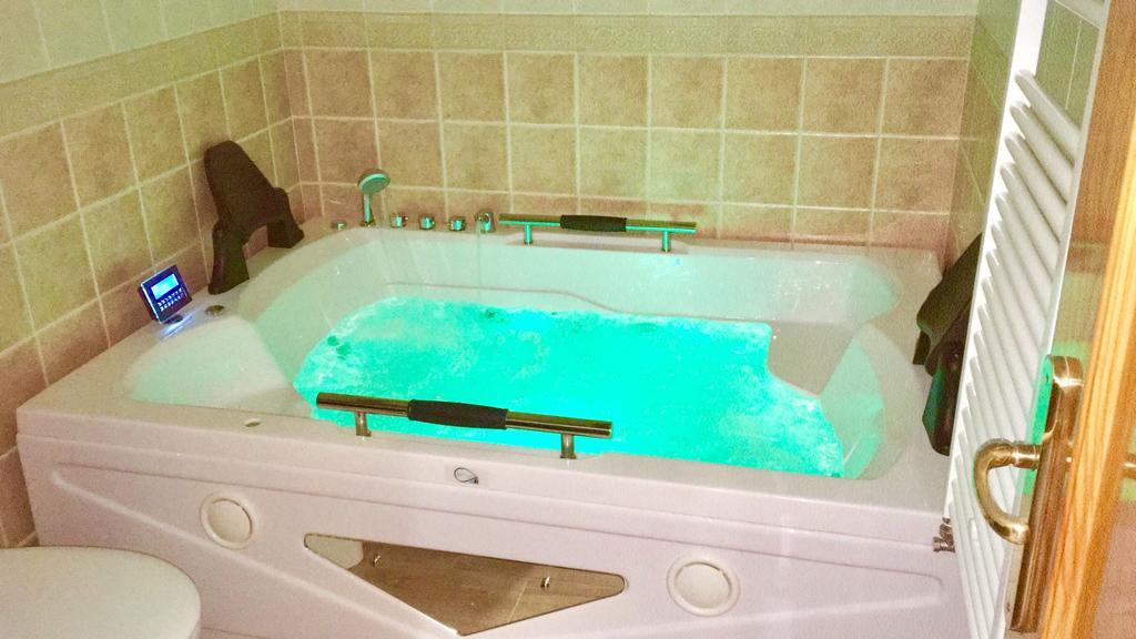 bañera doble de hodromasaje